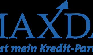 Maxda Logo auf transparentem Hintergrund