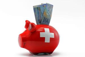 Sparschwein Schweizer Kredit